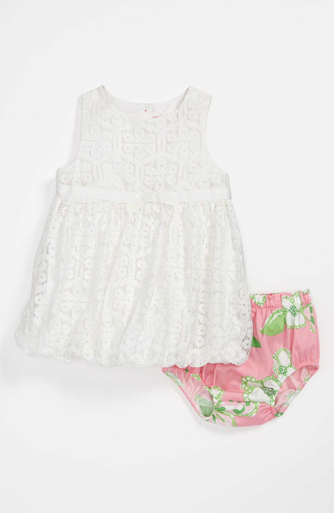 Main Image - Lilly Pulitzer® 'Britta Baby' Bubble Dress & Bloomers (Baby Girls)