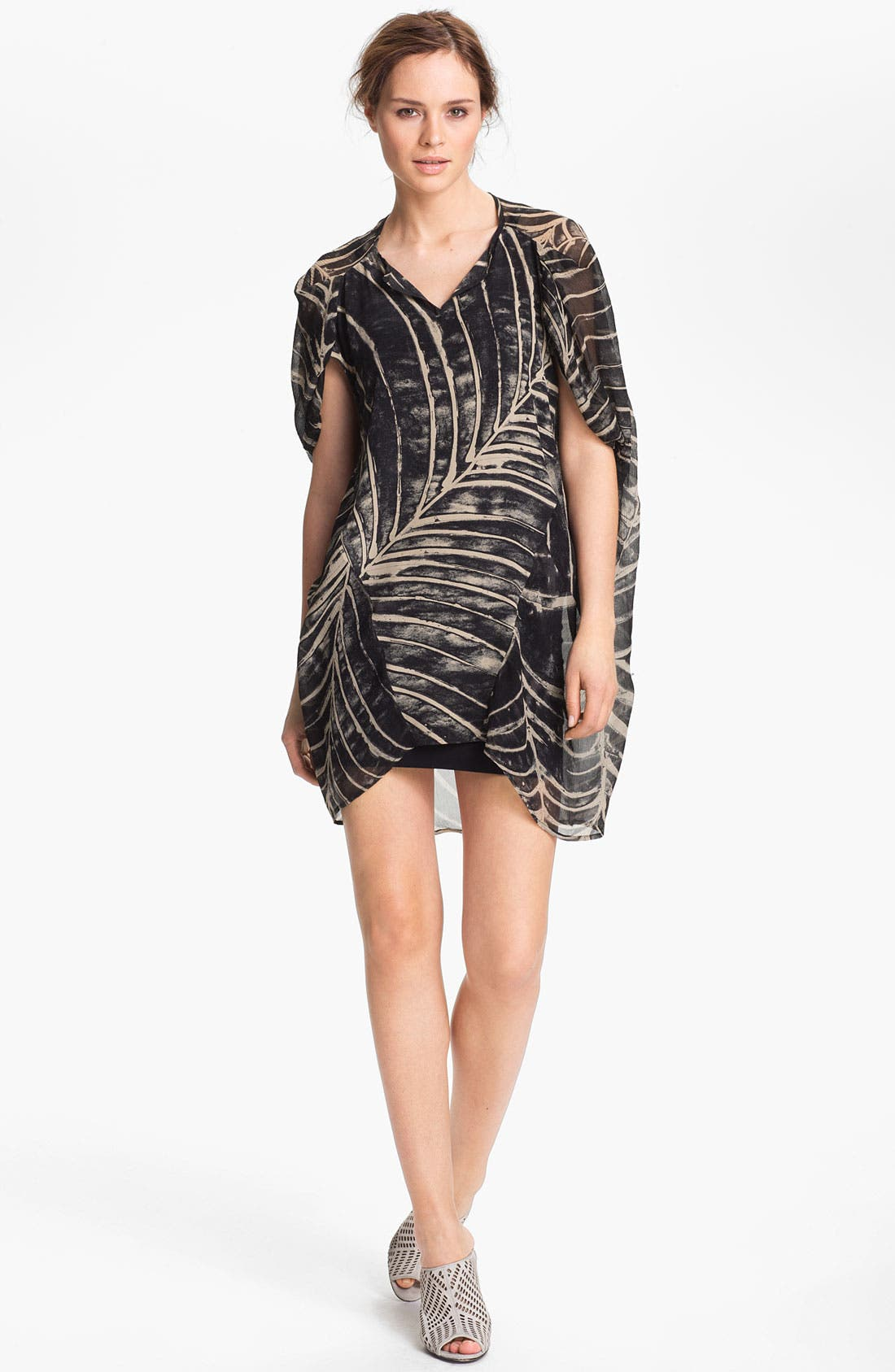 Alternate Image 1 Selected - Kelly Wearstler 'Arachine' Silk Dress