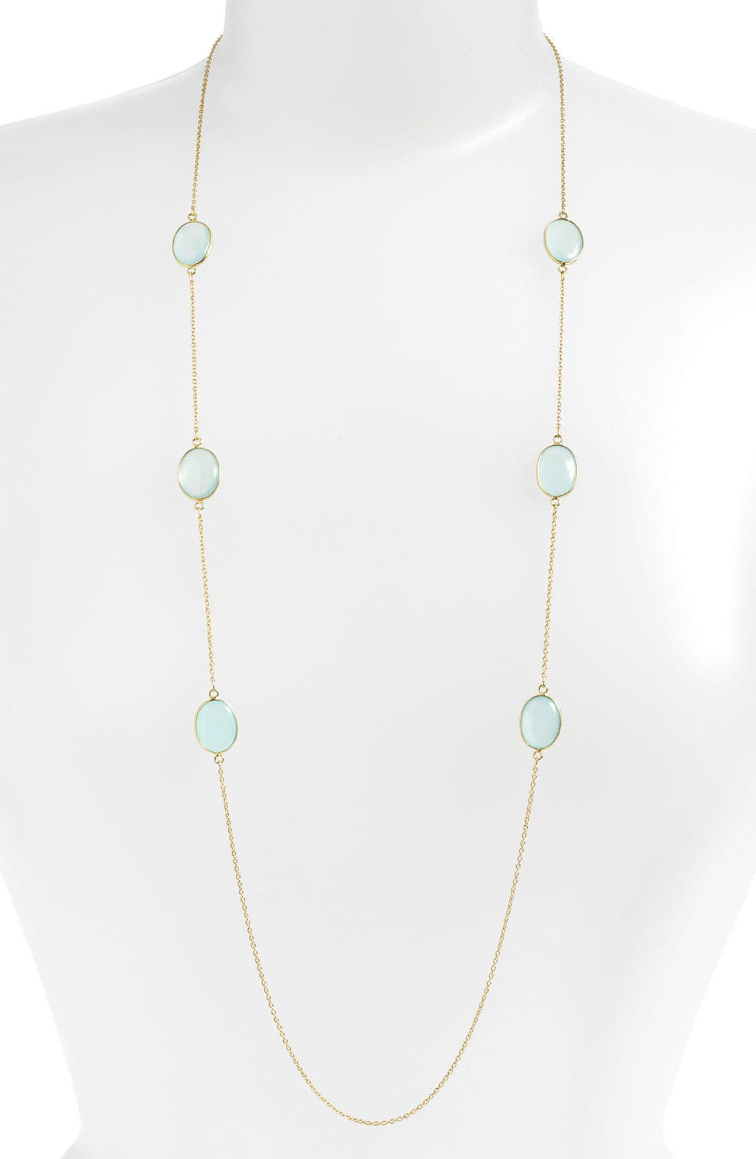 Alternate Image 1 Selected - Argento Vivo Long Station Necklace (Nordstrom Exclusive)