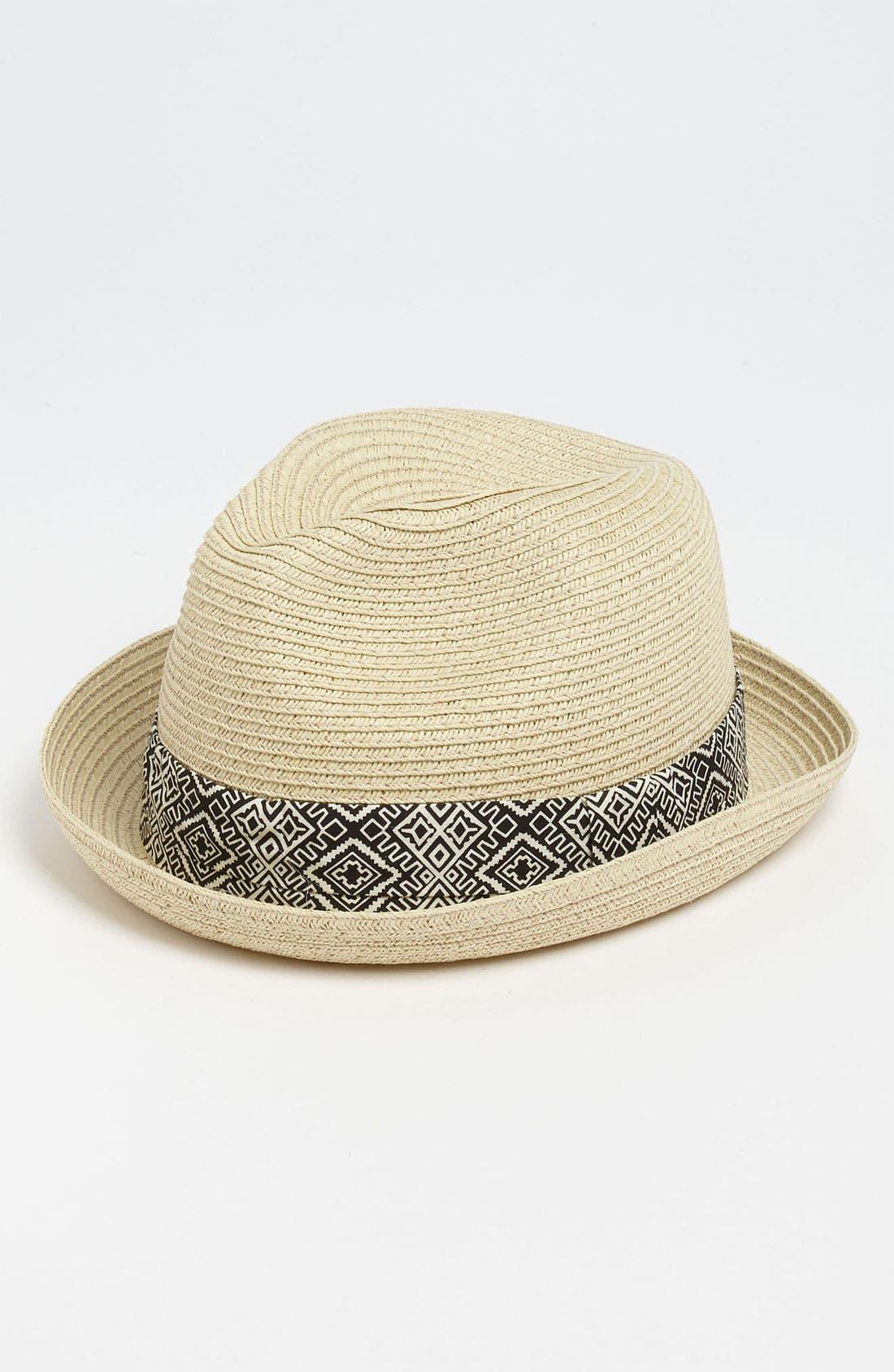 Alternate Image 1 Selected - San Diego Hat 'Tribal' Fedora (Toddler)