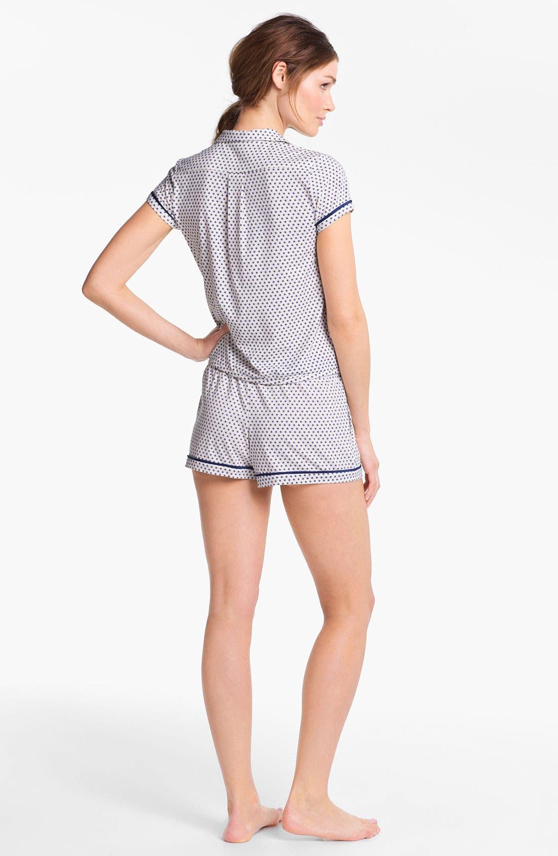 Alternate Image 4  - Kensie 'Surf Lodge' Pajama Top