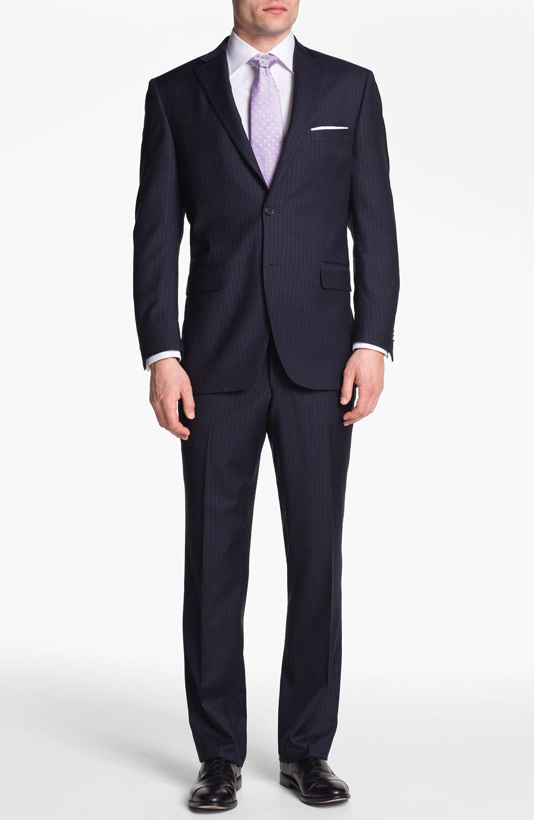 Alternate Image 2  - Peter Millar Stripe Wool Suit