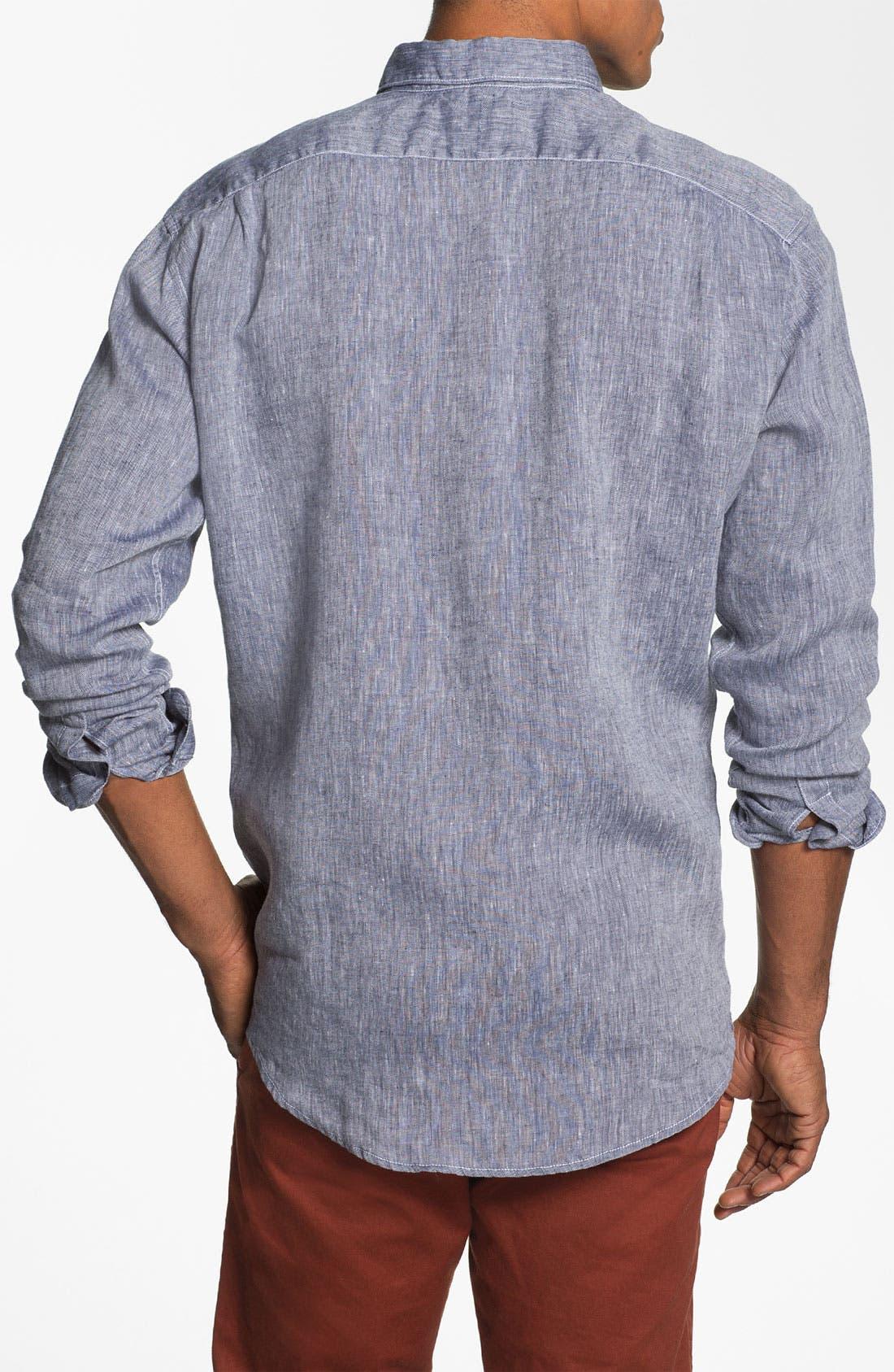 Alternate Image 2  - Lacoste Linen Shirt