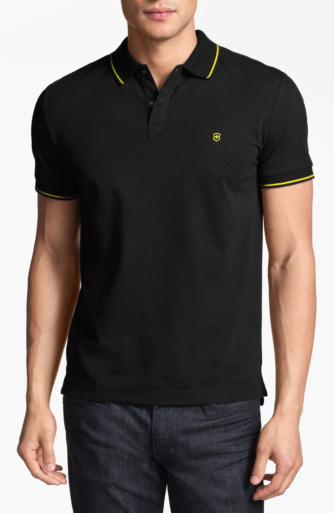 Alternate Image 1 Selected - Victorinox Swiss Army® 'Ibach' Tailored Fit Polo (Online Only)
