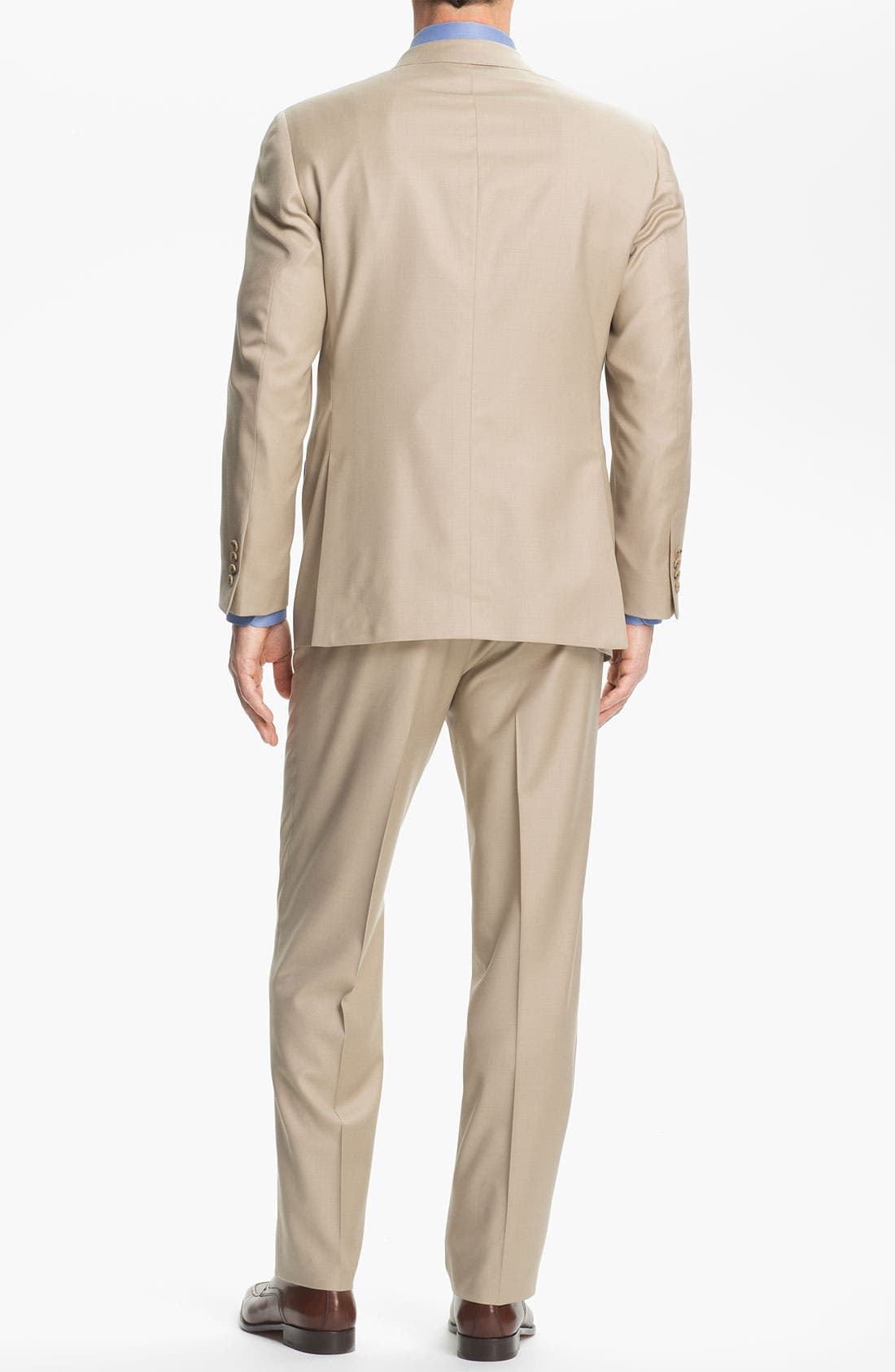 Alternate Image 3  - Samuelsohn 'Performance' Stretch Wool Suit
