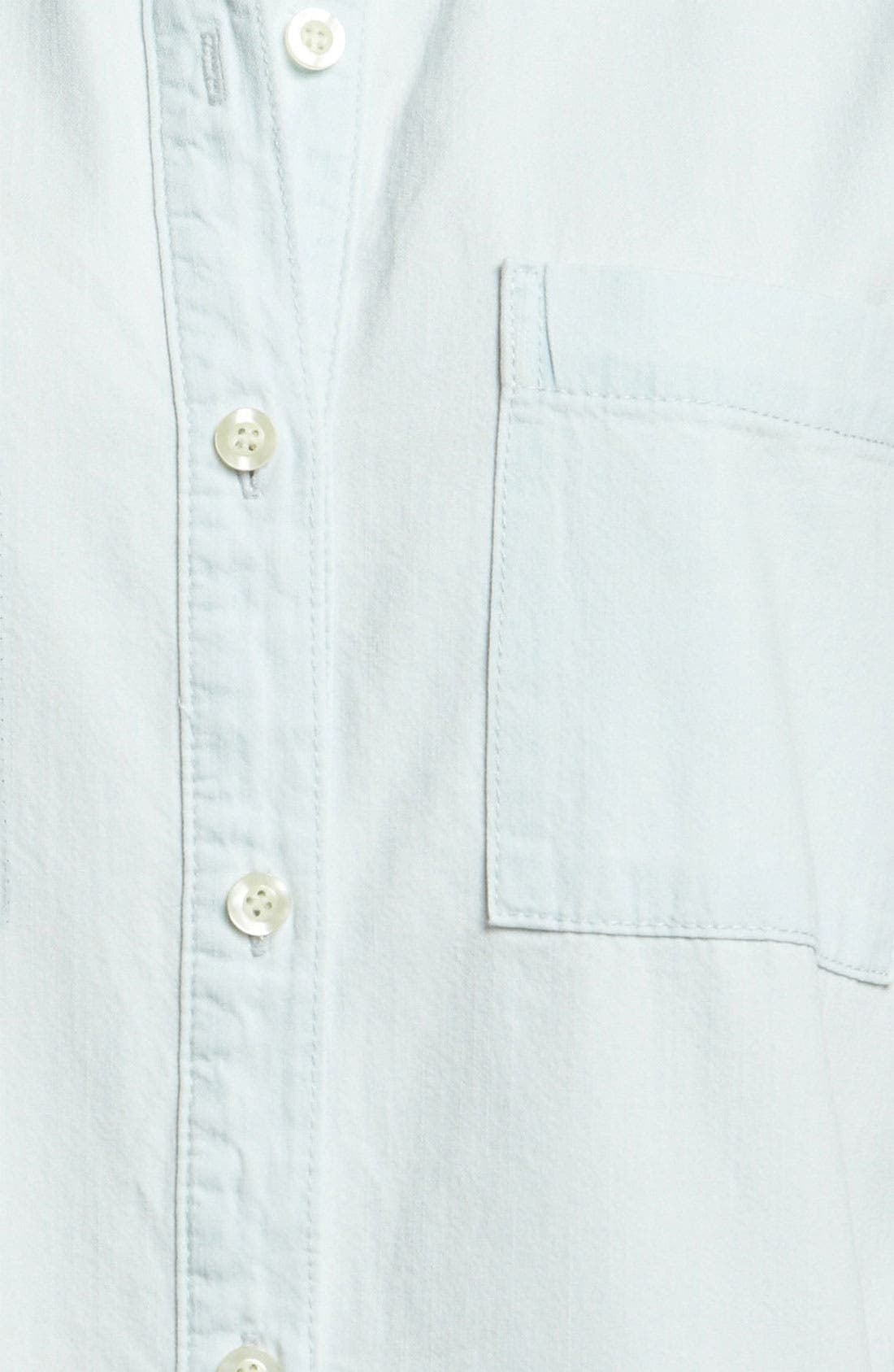 Alternate Image 3  - Leith Relaxed Chambray Shirt