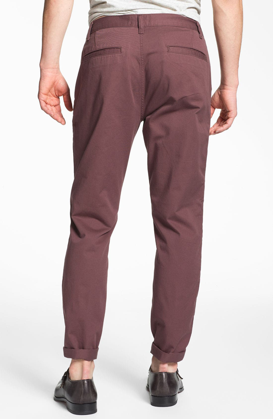 Alternate Image 2  - Topman Slim Fit Chinos
