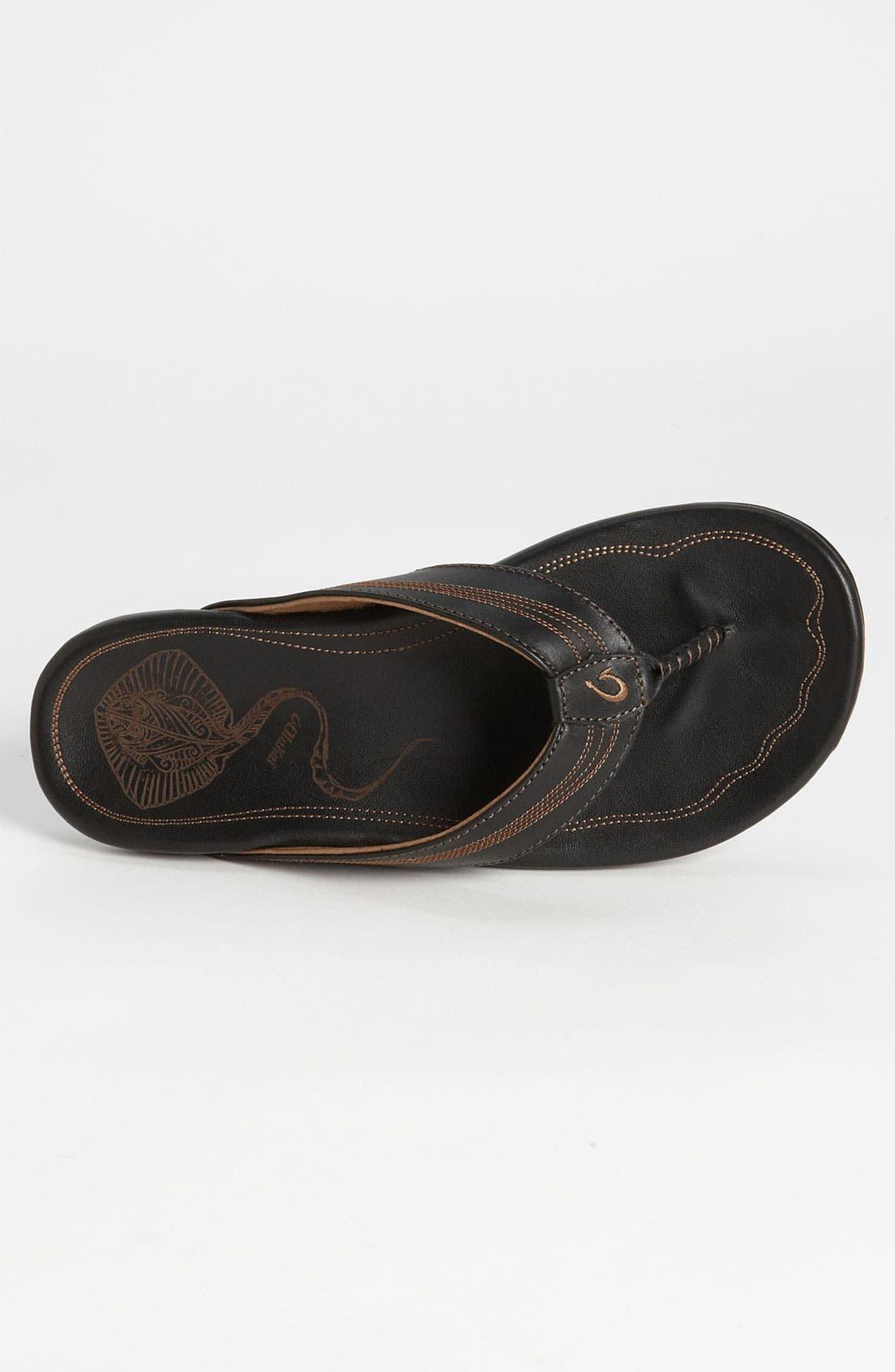 Alternate Image 3  - OluKai 'Manini' Flip Flop (Men)