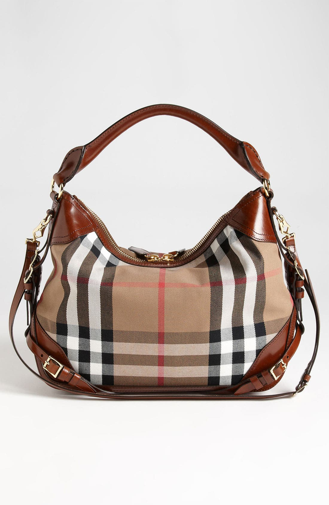Alternate Image 4  - Burberry 'House Check - Small' Hobo