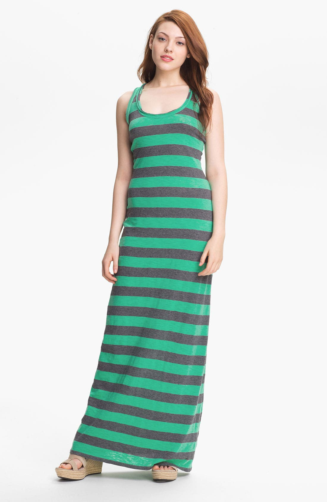 Alternate Image 1 Selected - Press Racerback Maxi Tank Dress (Online Exclusive)