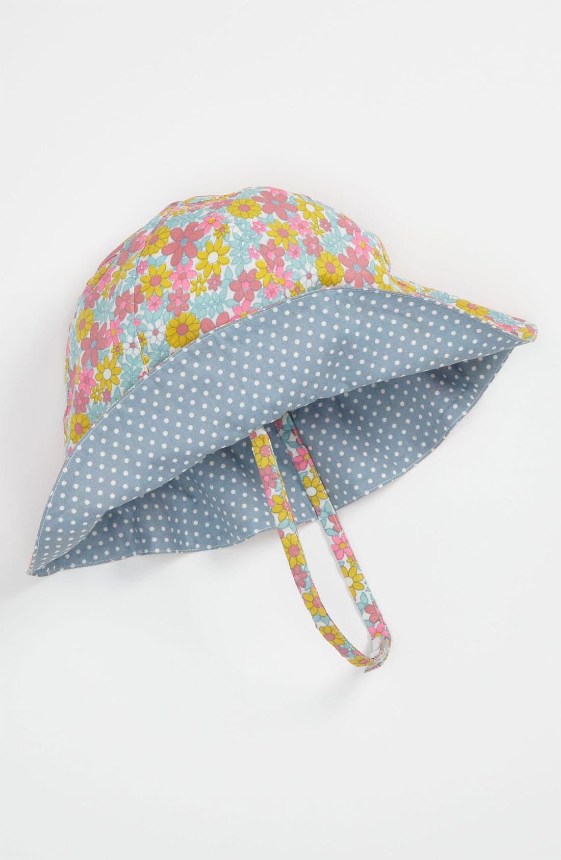 Alternate Image 1 Selected - Nordstrom Baby Reversible Sun Hat (Infant)