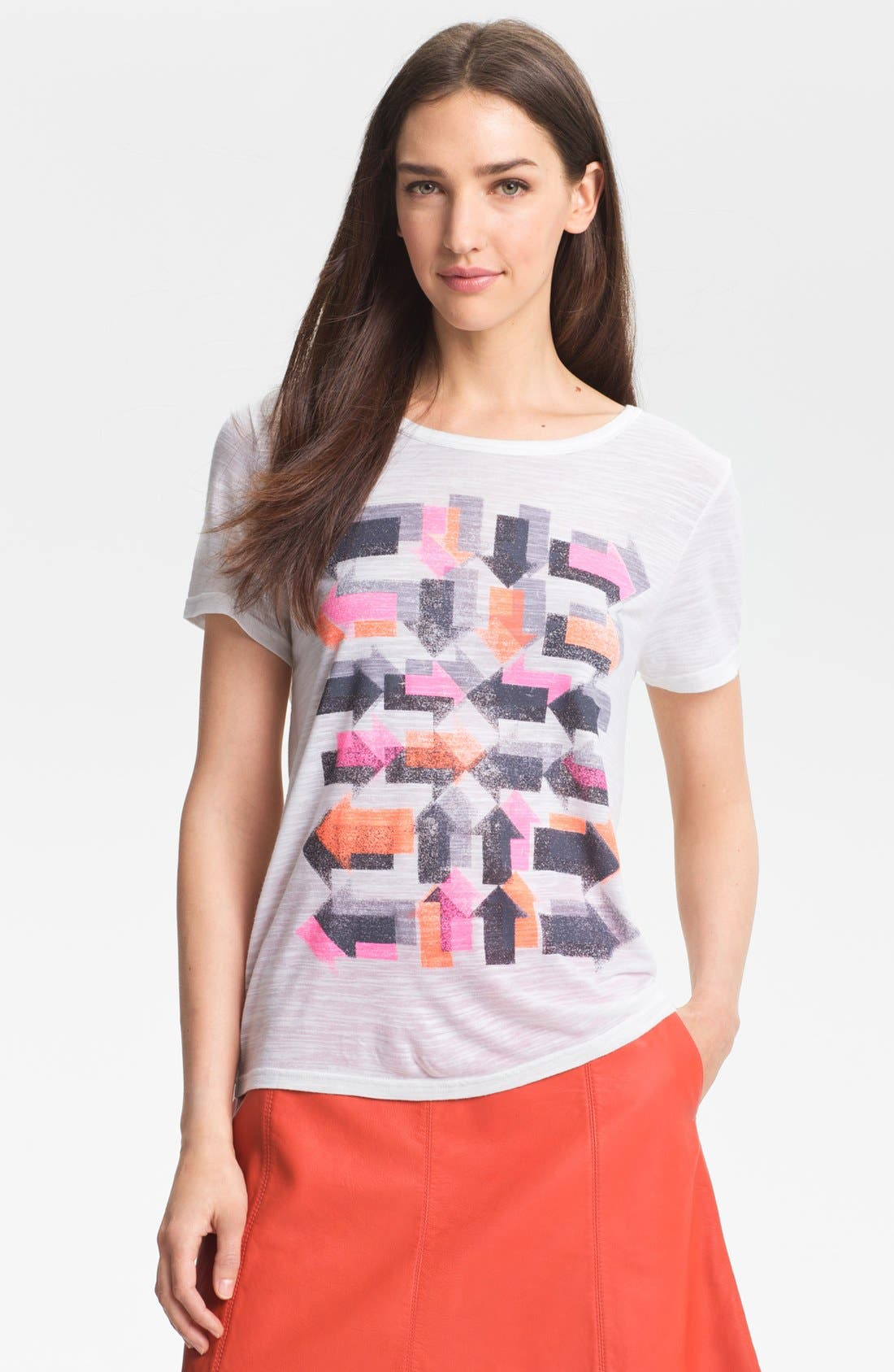 Alternate Image 1 Selected - MARC BY MARC JACOBS 'Double Arrows' Tee