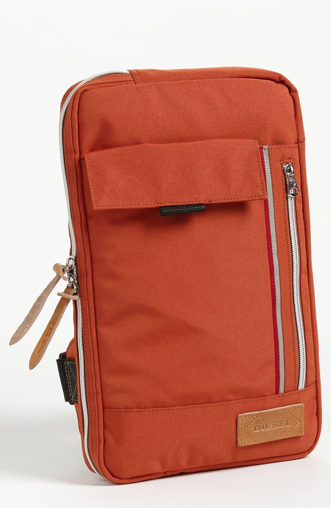 Alternate Image 1 Selected - DIESEL® 'Get On Track' Belted Messenger Bag