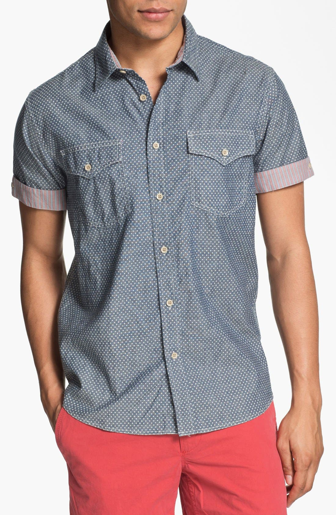 Alternate Image 1 Selected - Just A Cheap Shirt Slim Fit Sport Shirt