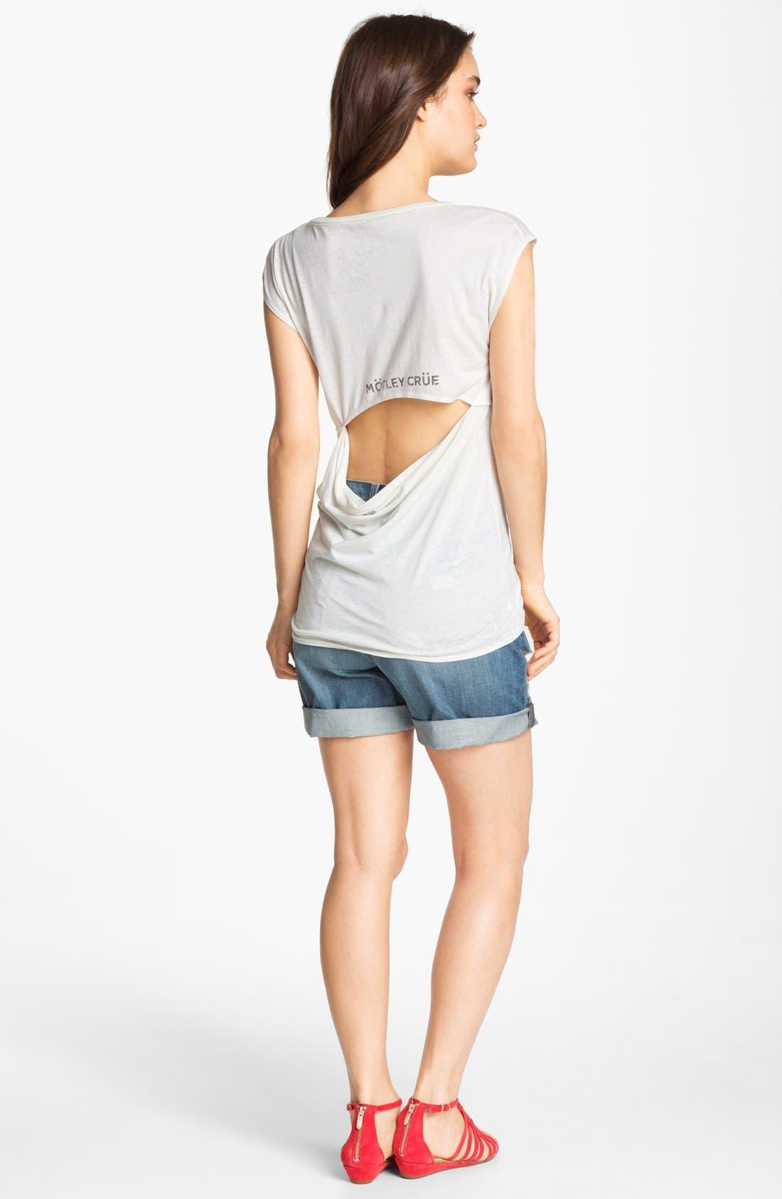Alternate Image 4  - J Brand 'Nash' Destroyed Denim Shorts (Synthesis)