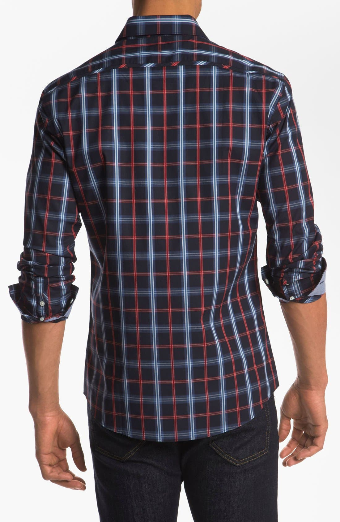 Alternate Image 2  - Kenson 'Seventh Seal' Regular Fit Sport Shirt