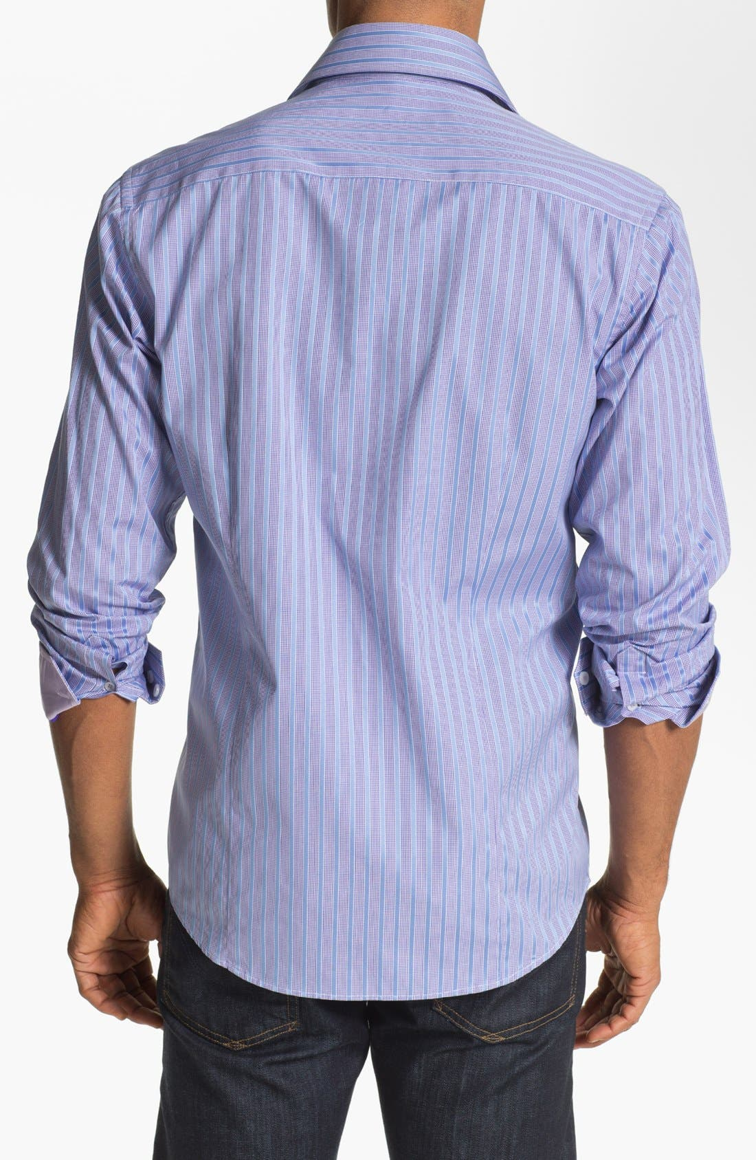 Alternate Image 2  - Report Collection Trim Fit Sport Shirt (Online Only)