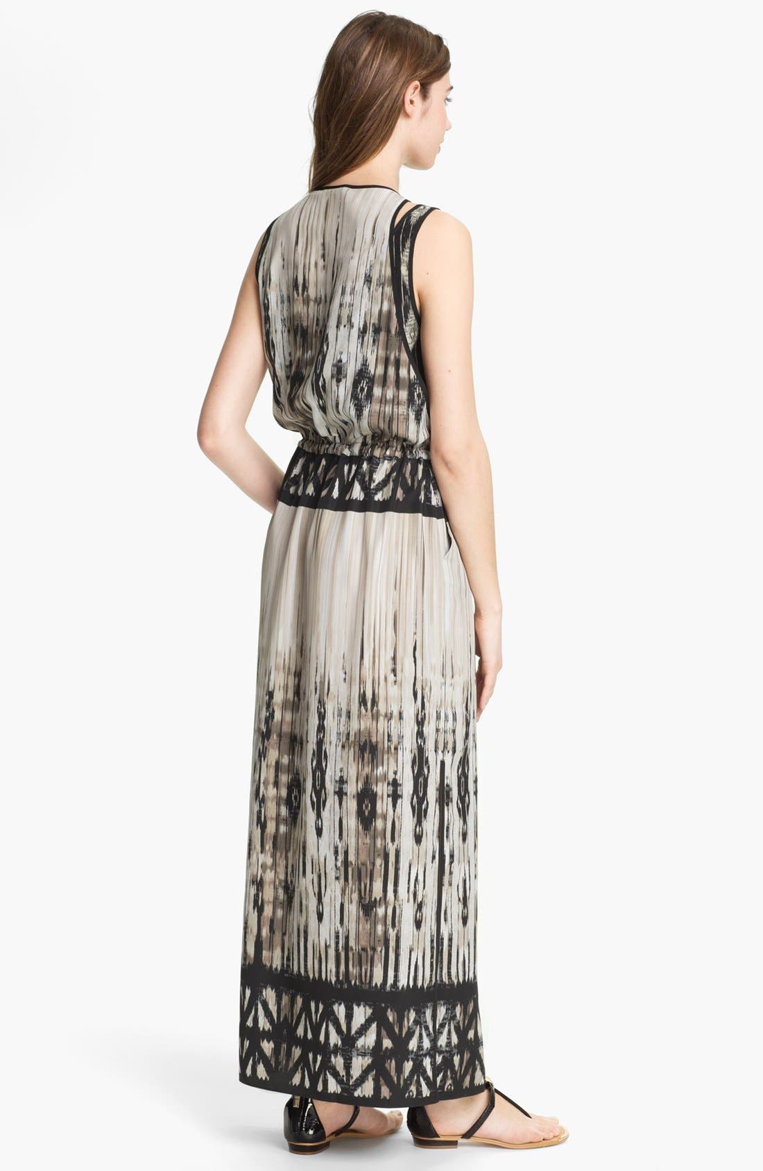 Alternate Image 2  - Kenneth Cole New York 'Orbital' Print Maxi Dress