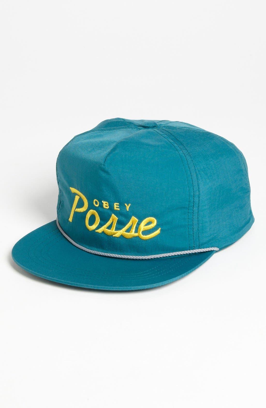 Alternate Image 1 Selected - Obey 'Posse' Snapback Hat