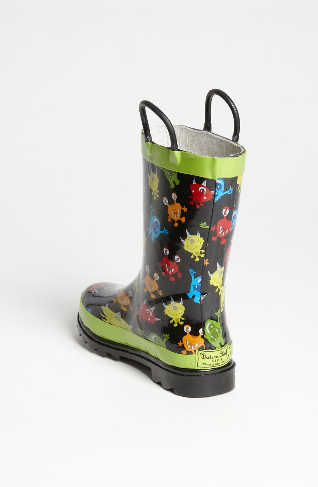 Alternate Image 2  - Western Chief 'Monster Party' Rain Boot (Walker, Toddler & Little Kid)