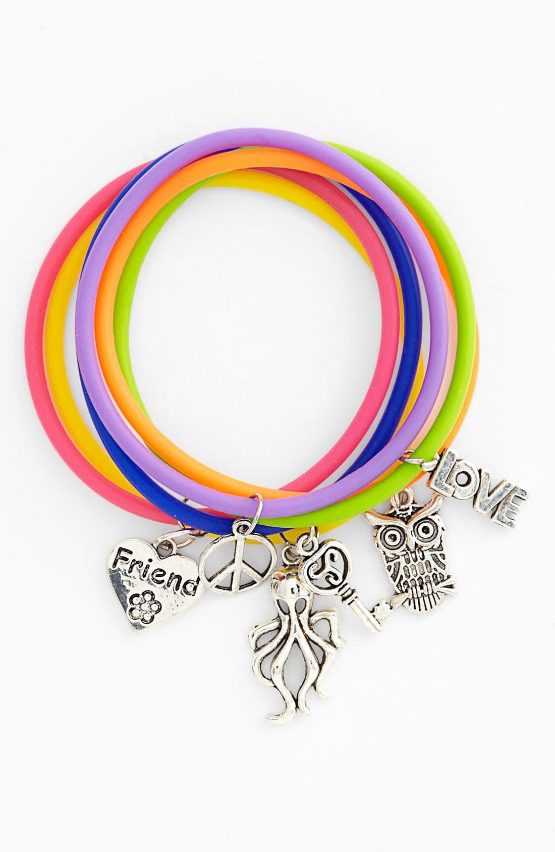 Alternate Image 1 Selected - Rolf Bleu Jelly Charm Bracelet (Girls)