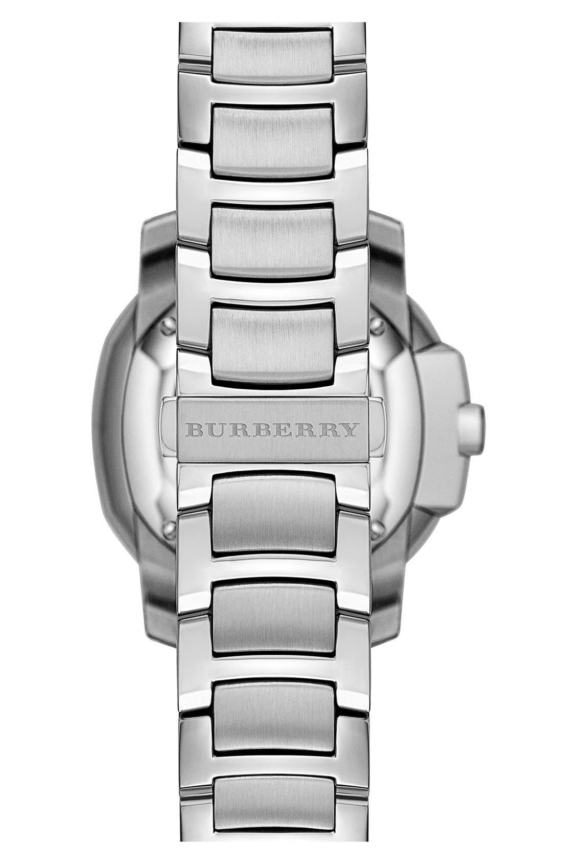 Alternate Image 3  - Burberry The Britain Bracelet Watch, 34mm