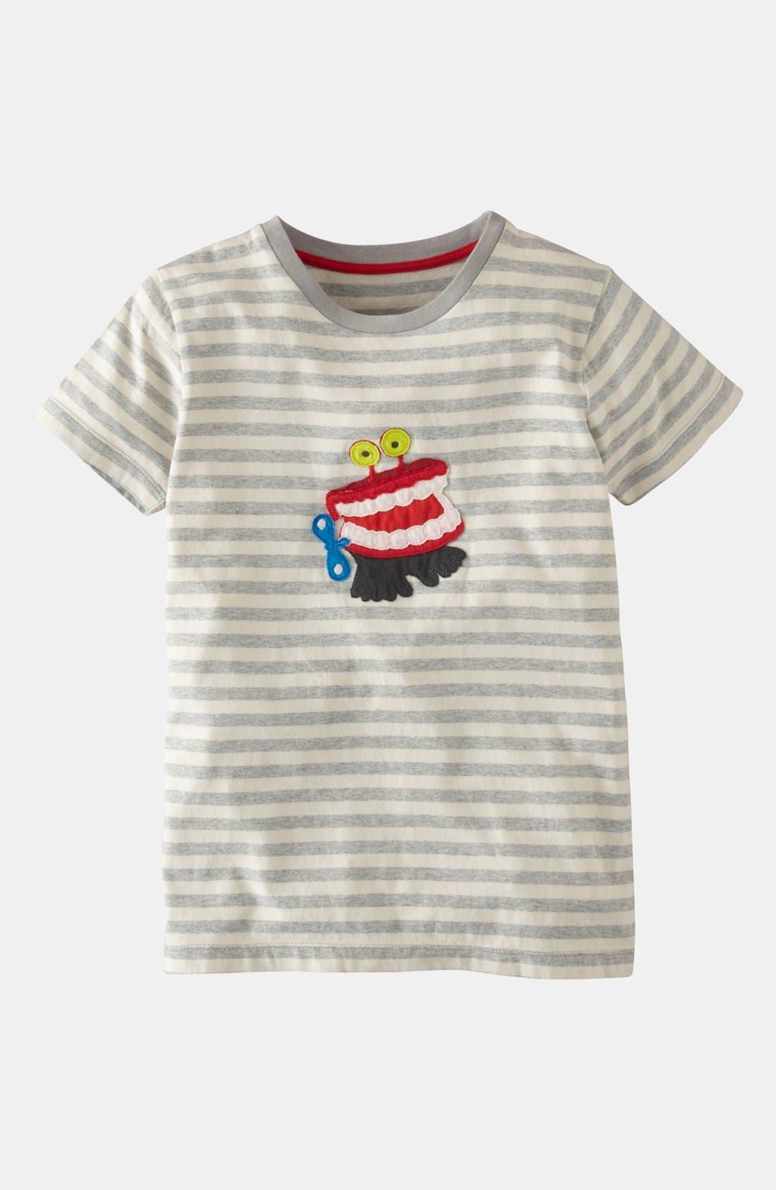 Alternate Image 1 Selected - Mini Boden 'Joke' T-Shirt (Toddler, Little Boys & Big Boys)