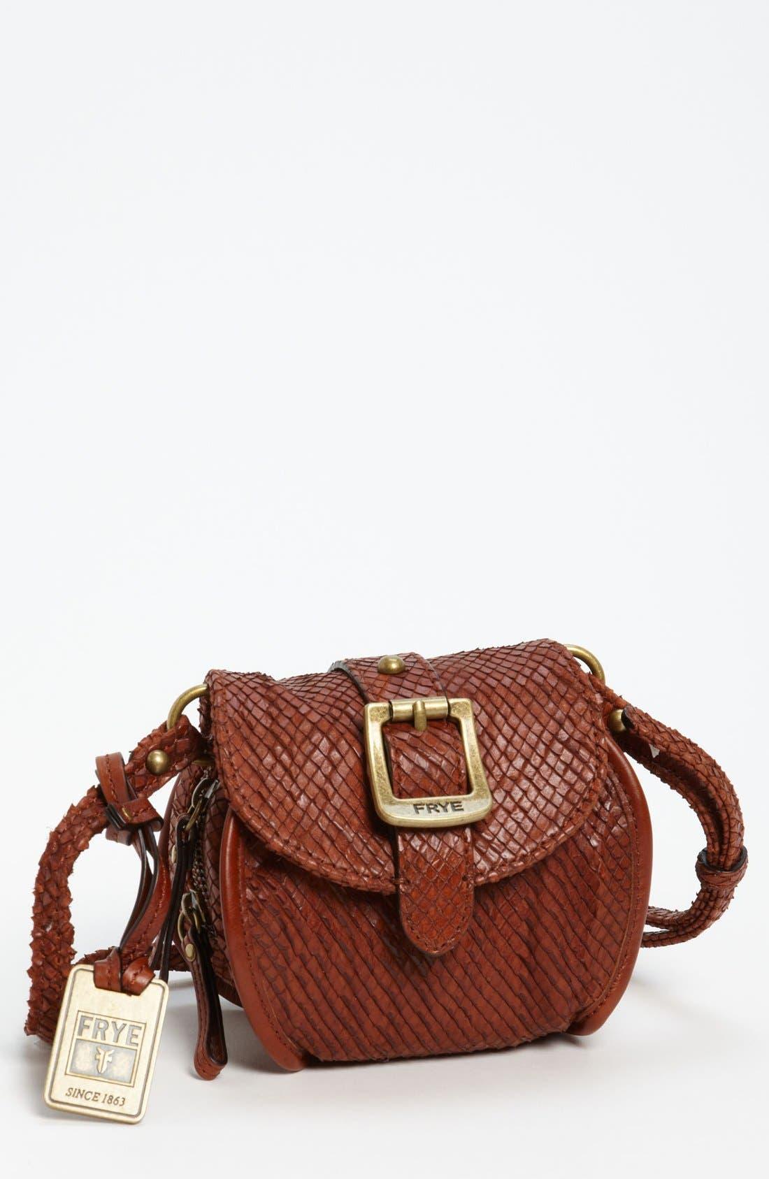 Main Image - Frye Snake Texture Crossbody Bag
