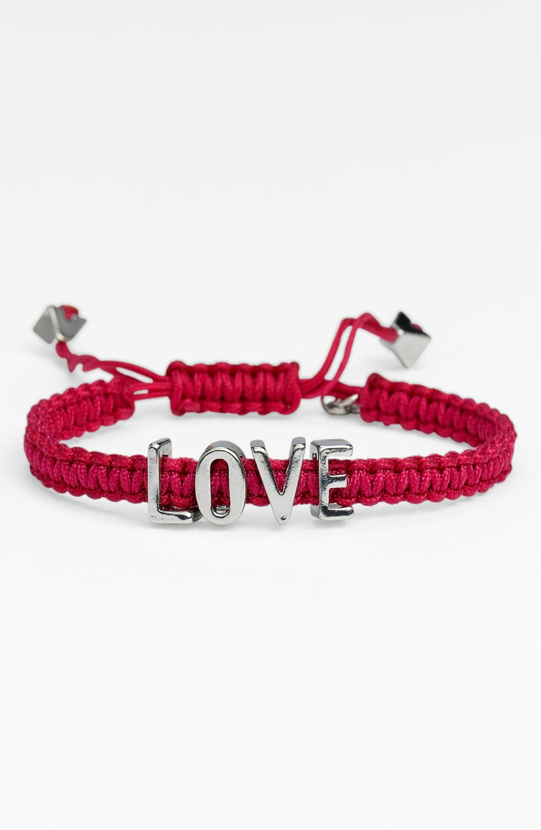 Alternate Image 1 Selected - BCBGeneration 'Affirmation - Friendship' Macramé Bracelet