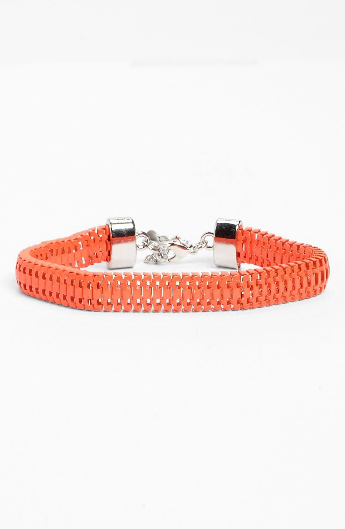 Main Image - Topshop Neon Trace Bracelet