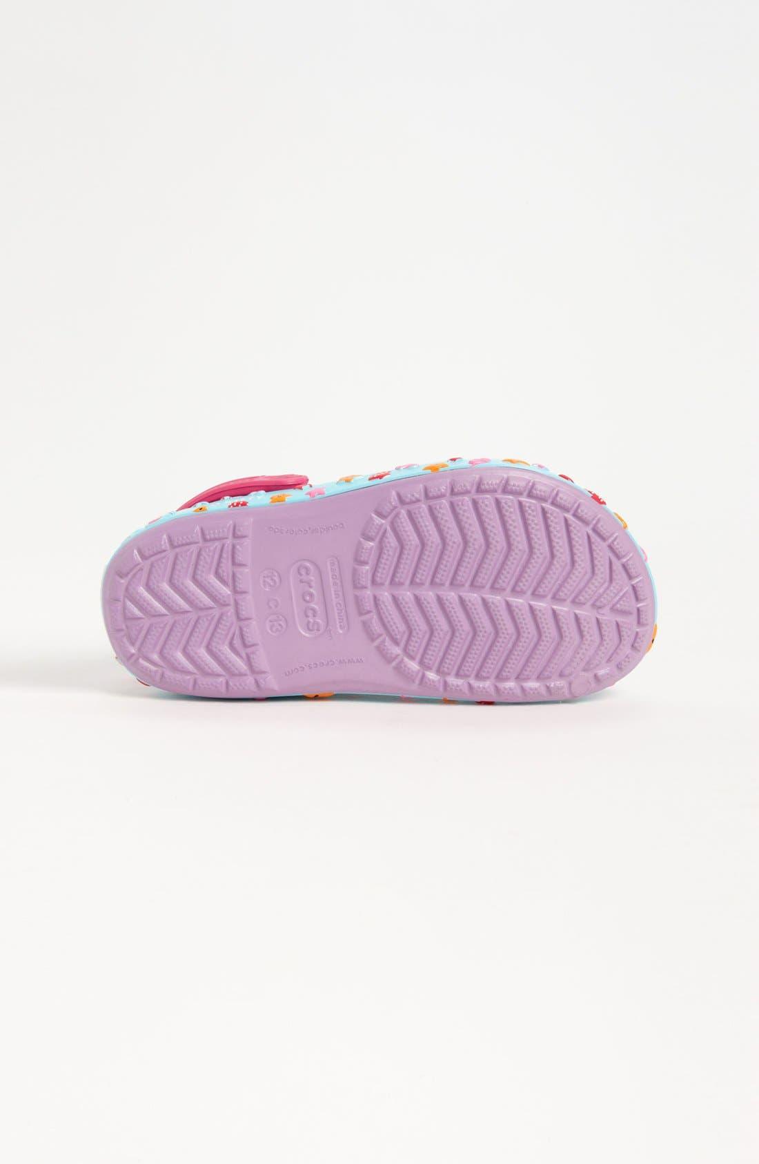 Alternate Image 4  - CROCS™ 'Hello Kitty® - Mermaid' Slip-On (Walker & Toddler)