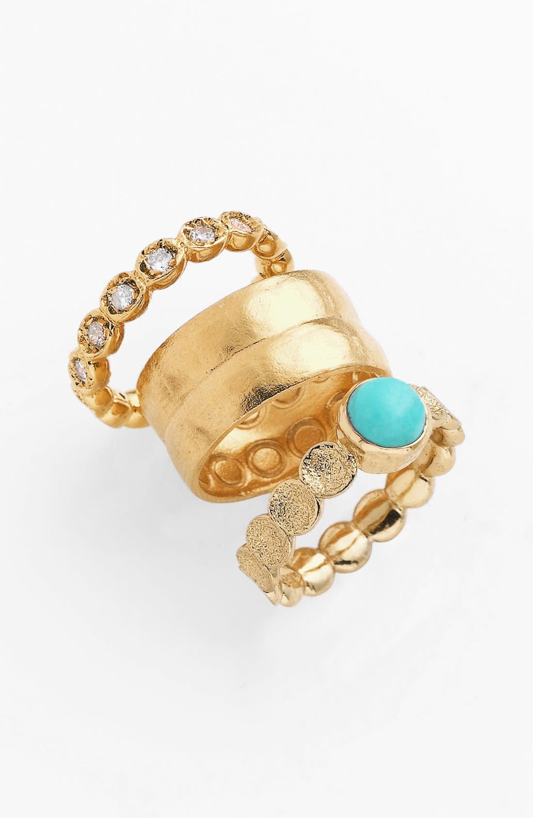 Main Image - Melinda Maria 'Capulet' Stackable Rings (Set of 3) (Nordstrom Exclusive)