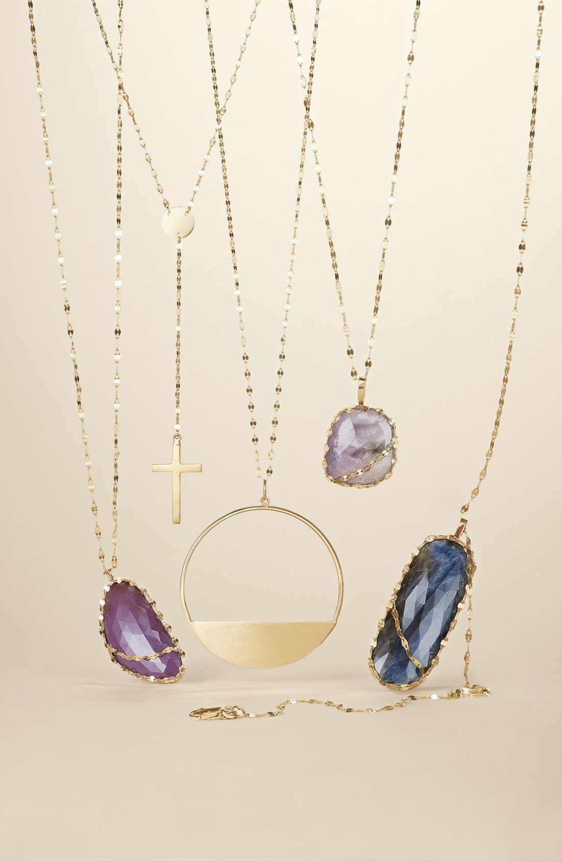 Alternate Image 2  - Lana Jewelry Medium Eclipse Pendant Necklace
