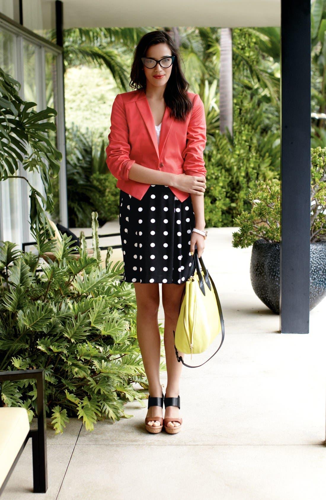 Alternate Image 6  - Halogen® Pleat Skirt