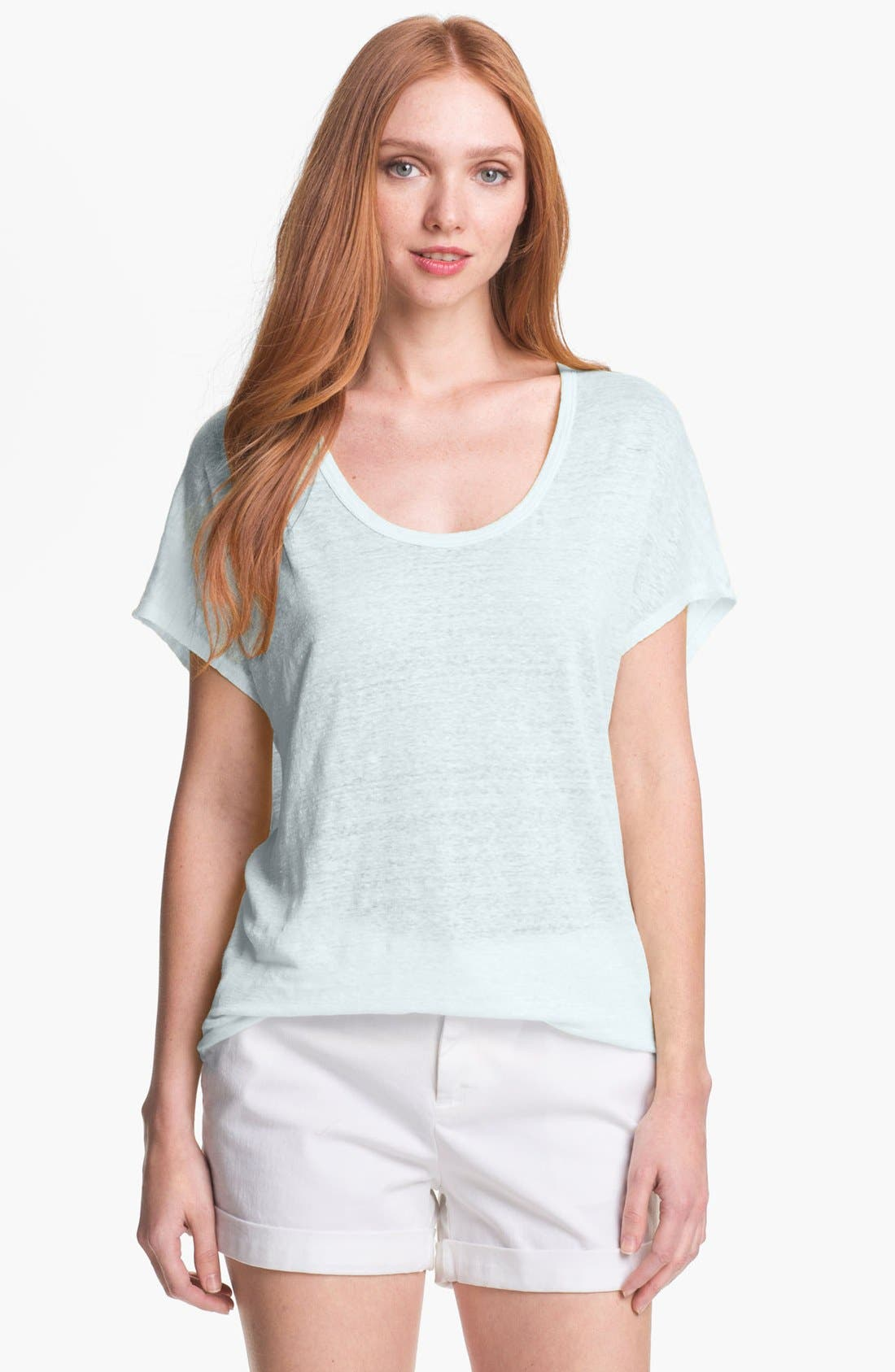 Alternate Image 1 Selected - Joie 'Maddie' Linen Tee