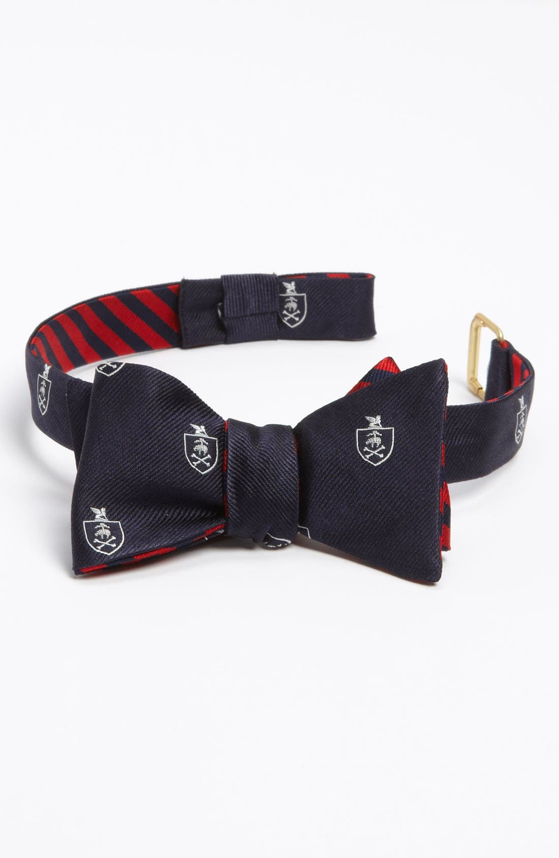 Main Image - Brooks Brothers Reversible Silk Bow Tie