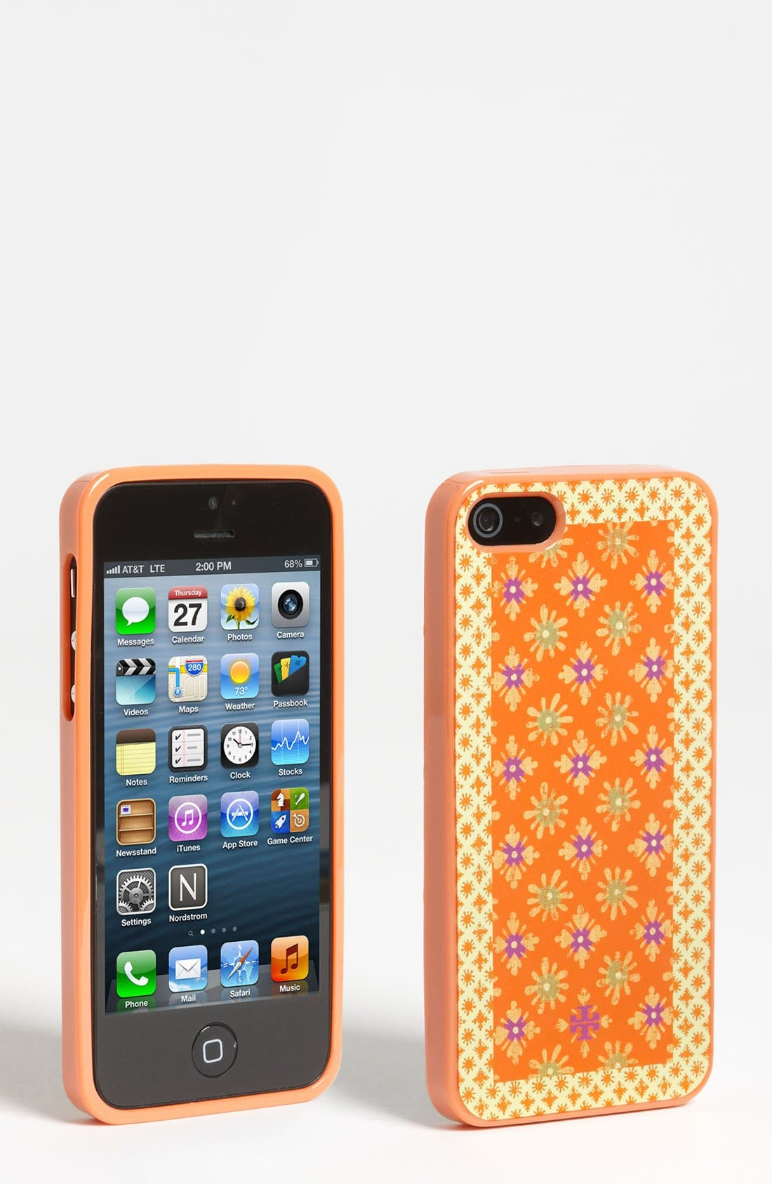 Alternate Image 1 Selected - Tory Burch 'Layton' iPhone 5 Soft Case