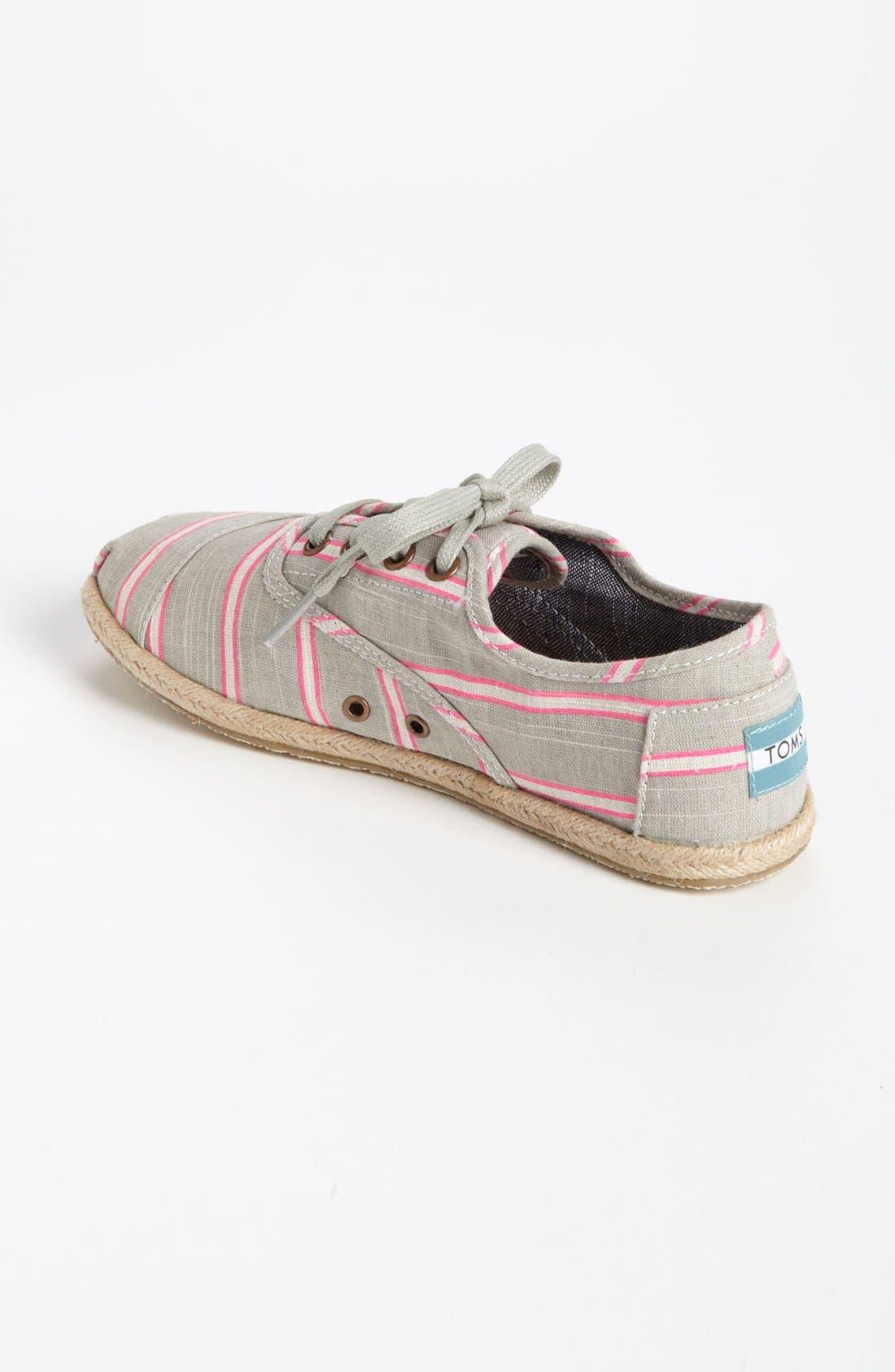 Alternate Image 2  - TOMS 'Cordones - Washed Stripe' Slip-On (Women)