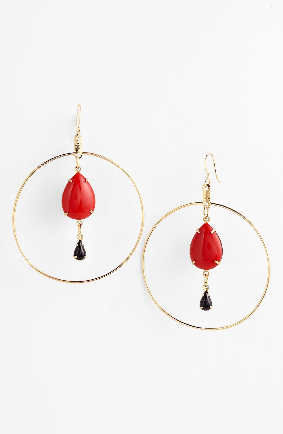 Alternate Image 1 Selected - Verdier Jewelry 'Caliente' Hoop Earrings