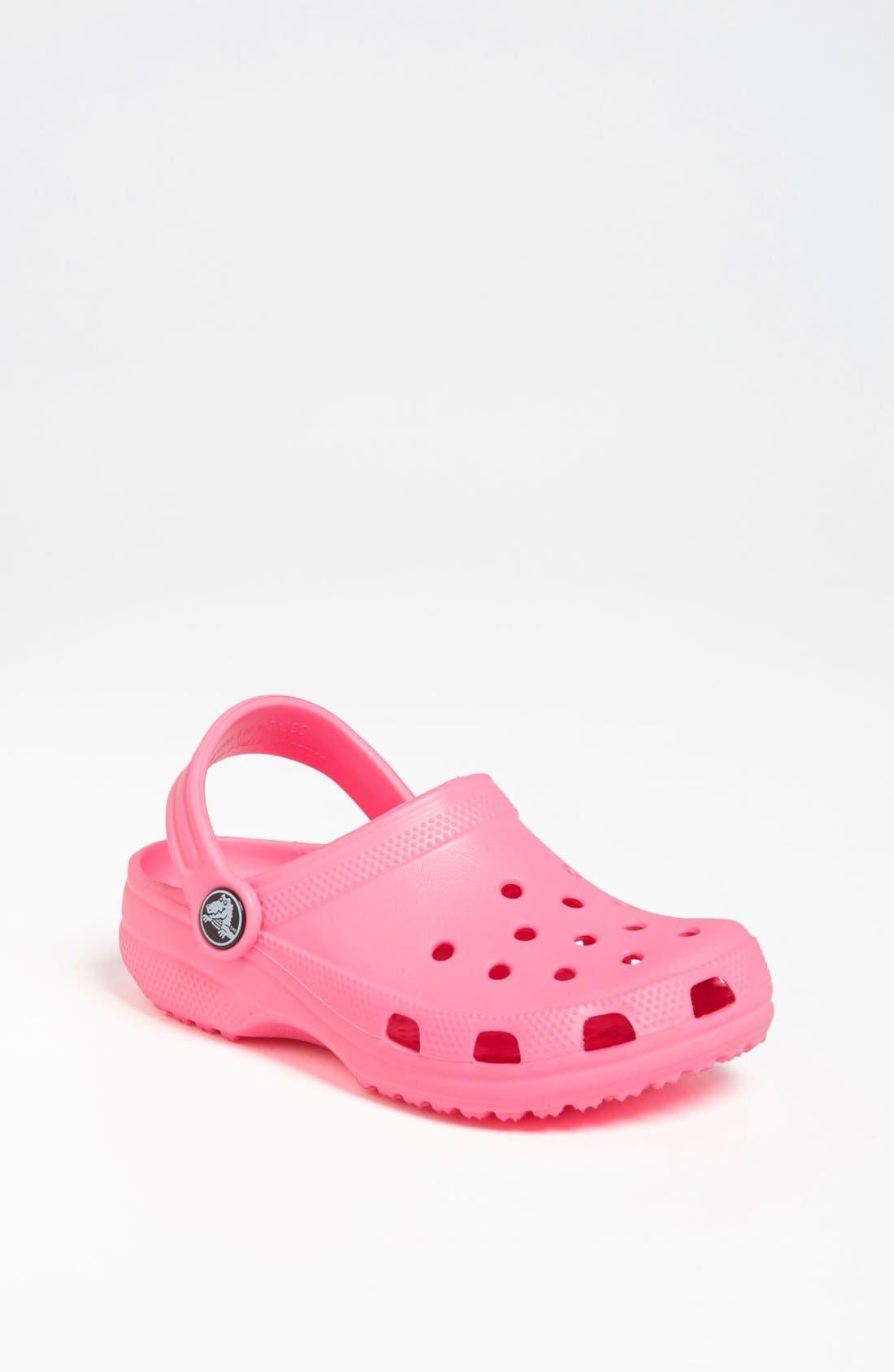Main Image - CROCS™ 'Classic Clog' Sandal (Walker, Toddler & Little Kid)