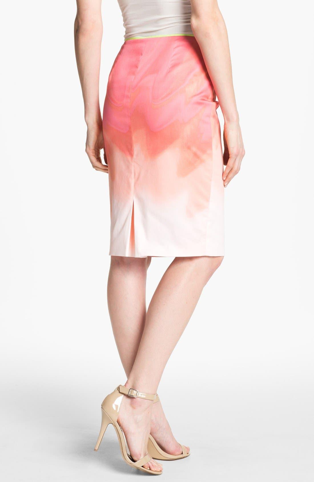 Alternate Image 2  - Elie Tahari 'Penelope - Sand Dunes' Skirt