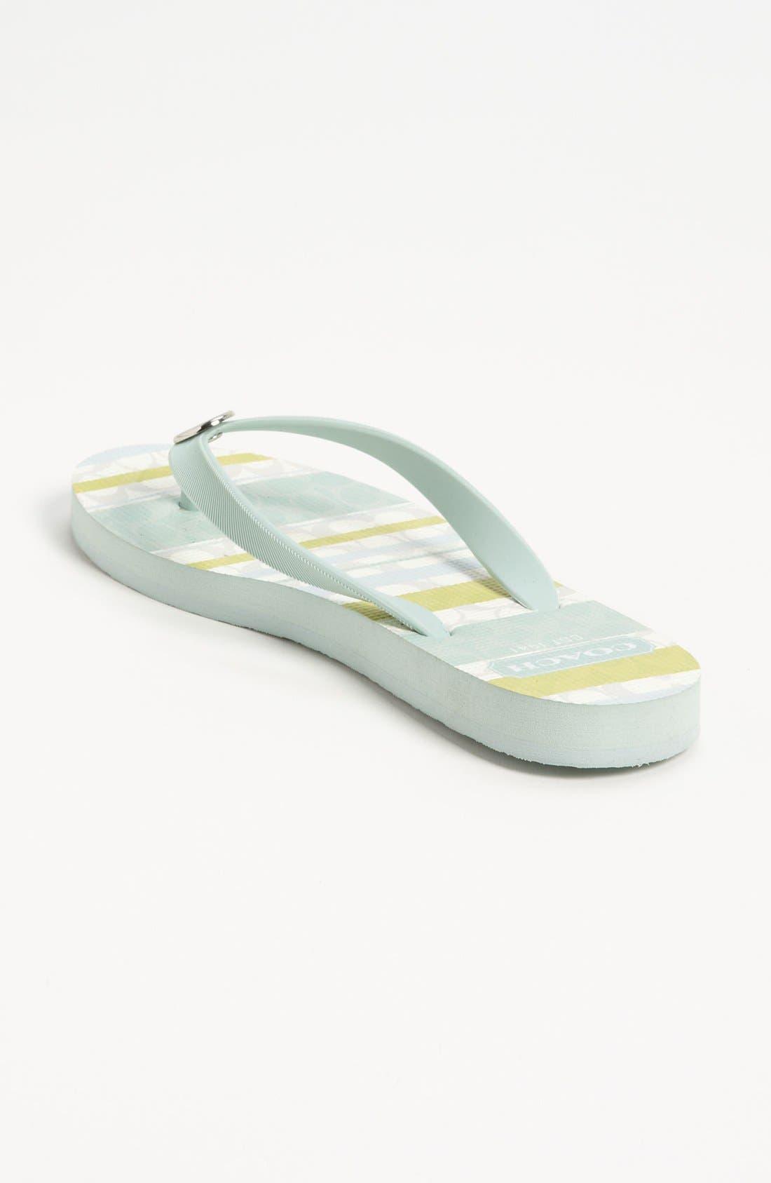 Alternate Image 2  - COACH 'Alessa' Flip Flop
