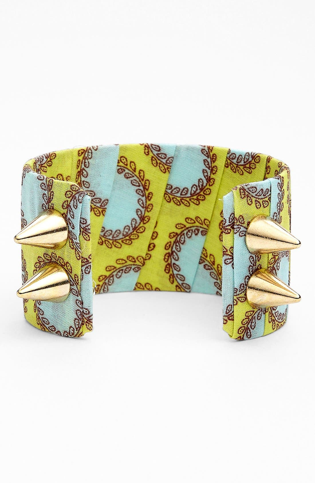 Alternate Image 1 Selected - Lenora Dame Fabric & Spike Cuff
