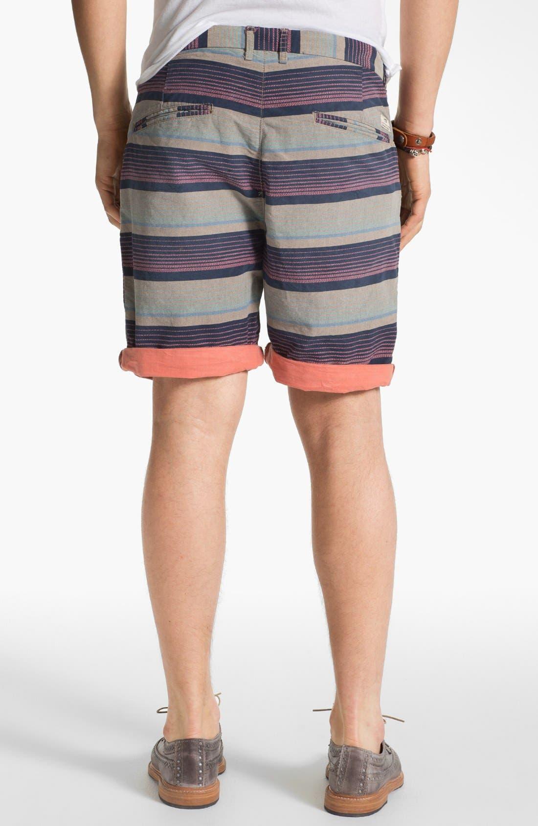 Alternate Image 2  - Scotch & Soda Stripe Chino Shorts