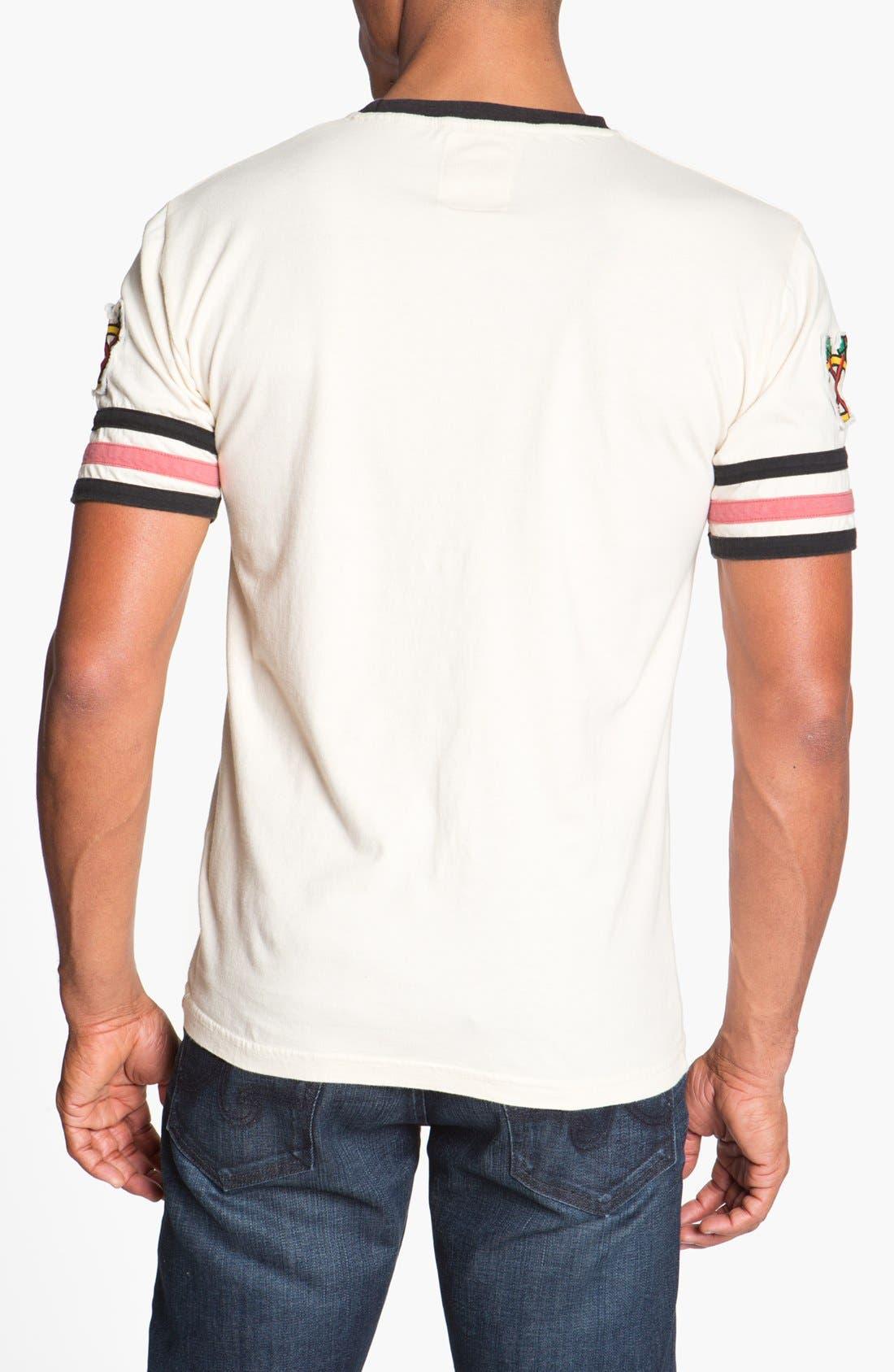Alternate Image 2  - Red Jacket 'Blackhawks - Remote Control' T-Shirt