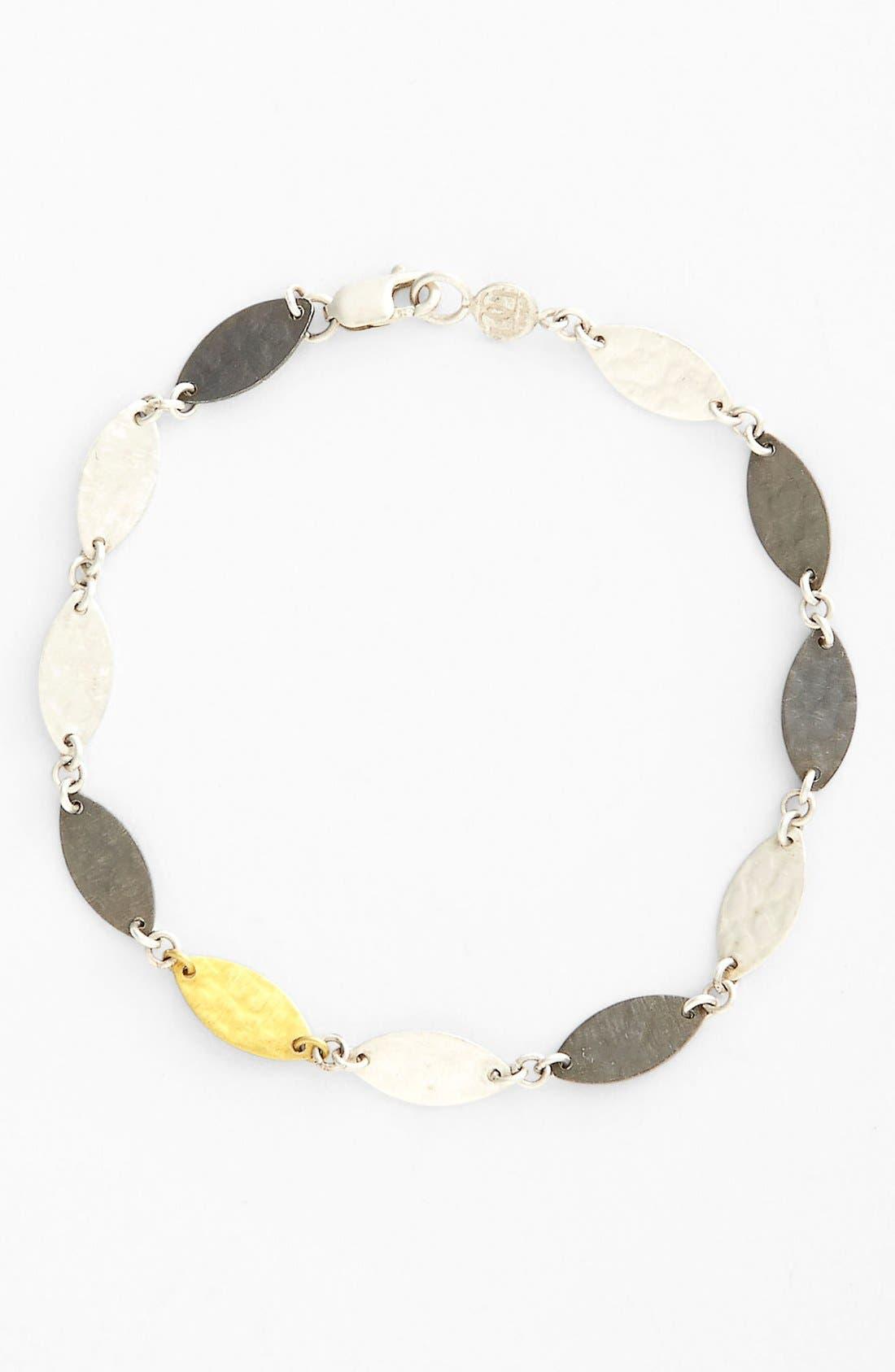 Alternate Image 1 Selected - Gurhan 'Willow' Mixed Leaf Bracelet