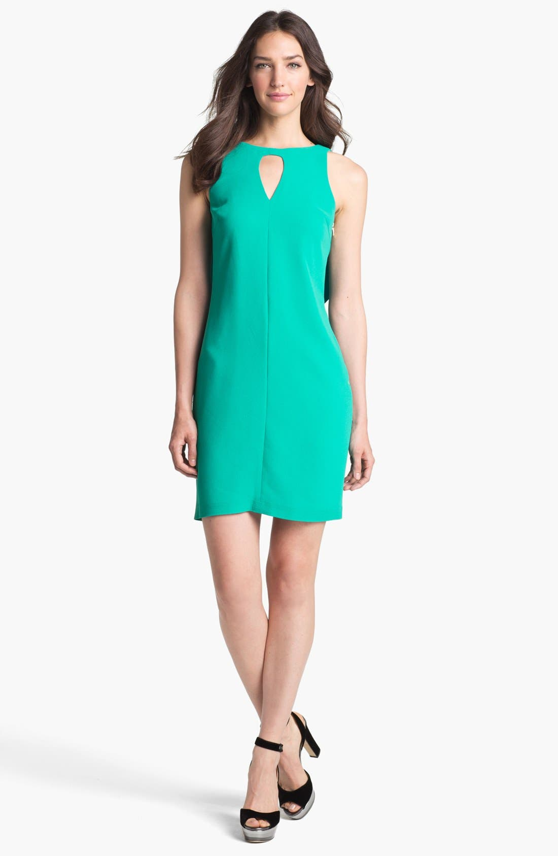 Main Image - Rachel Roy Drape Back Shift Dress