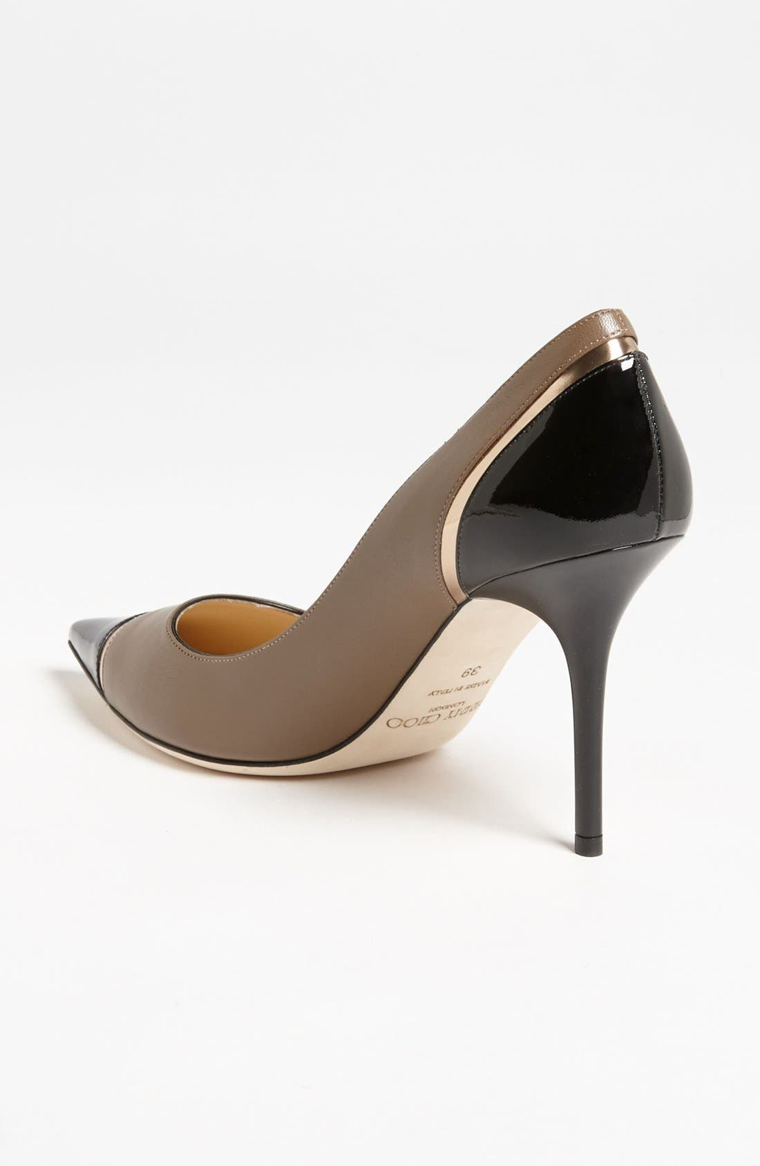 Alternate Image 2  - Jimmy Choo 'Lilo' Cap Toe Pump