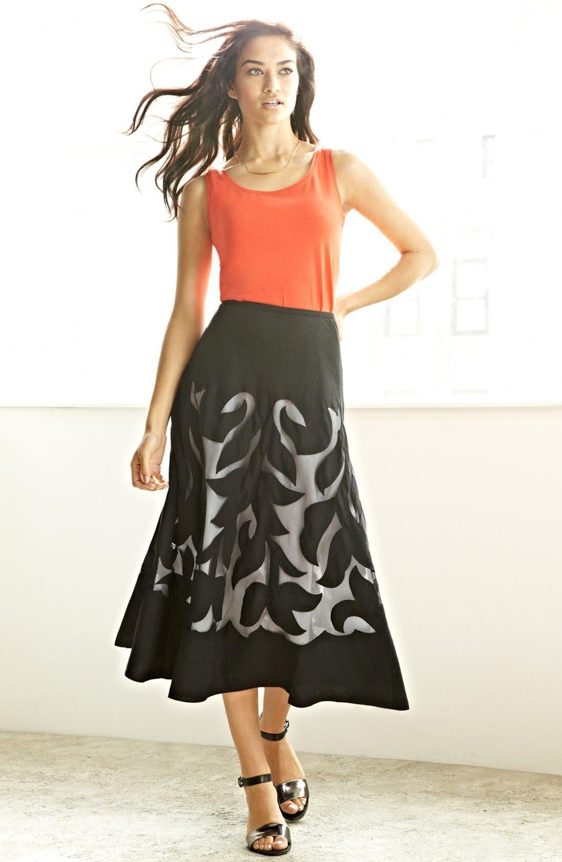 Main Image - Nic + Zoe Tank & Patio Skirt