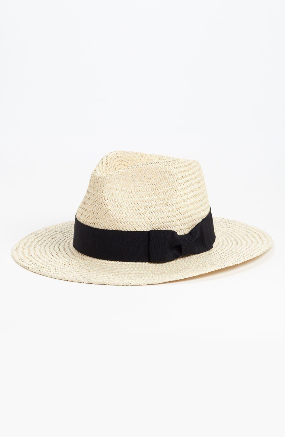 Alternate Image 1 Selected - Trouvé Straw Panama Hat